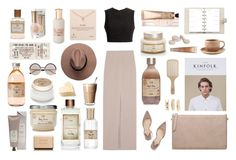"""""""36."""" by sabon ❤ liked on Polyvore featuring Philip Kingsley, Paul Andrew, Toast, Louis Vuitton, Alice + Olivia, Chanel, Marc by Marc Jacobs, Thakoon, Dogeared and beige"""
