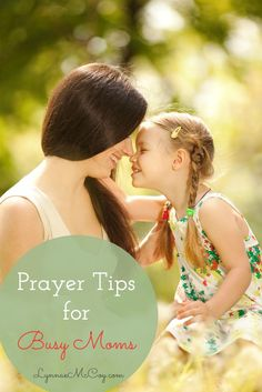 These are some great tips about how you can find time to pray, even when it seems your kids don't give you a chance.