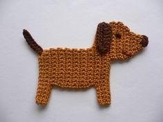 Crochet Car, Crochet Blocks, Crochet Squares, Crochet Crafts, Crochet Toys, Crochet Projects, Crochet Applique Patterns Free, Crochet Motif, Amigurumi Patterns