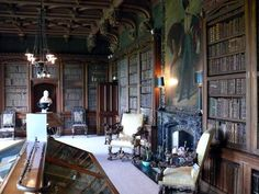 Abbotsford_House_Library