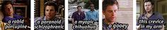"""""""Gus, don't be . . ."""" - Set of gifs from Psych!"""