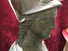 Athenais the Olympiangoddess of wisdom and war, statue, sculpture made of bronze with the ancient method, Greek antiquity copy - Hellas Art by SiloArtFactory Greece Goddess, Athena Goddess, Greek Antiquity, Recycled Art, Gods And Goddesses, Olympians, Ancient Greece, Bronze Sculpture, Deities