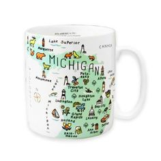 See more detail about My Place Michigan Jumbo Mug..