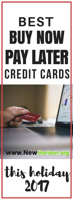 "Best ""Buy Now, Pay Later"" Cards. GUARANTEED APPROVAL AND HUGE CREDIT LIMITS"