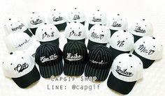 หมวกแก๊ปเบสบอลปักชื่อ ใบเดียวก็สั่งทำได้ หมวกเปล่าๆก็ขายค่ะ #หมวกเบสบอลปักชื่อ #หมวกปักชื่อ #หมวกปักตัวอักษร #หมวกปัก #หมวกแก๊ป