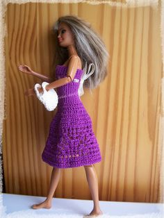 Robe de Barbie au crochet