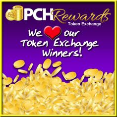 The PCHBlog Says.......Token Exchange Winners.....(Smiles)
