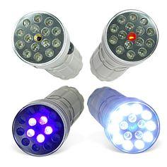CSI 3-in-1 Super LED-Lamp Met UV en Laser – EUR € 6.18