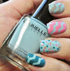 Notes from My Dressing Table: Easy and Pretty Nail Art with Barielle Gentle Breeze Collection/Notes from My Dressing Table