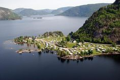 campsite in Norway; i'd love to camp here some day
