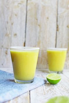Mango and Ginger Smoothie