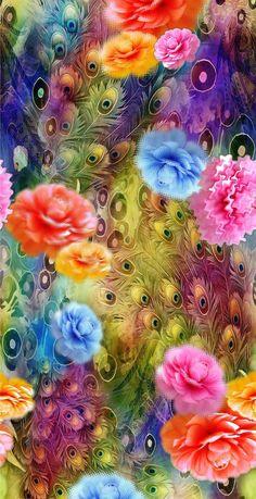 Purple Flowers Wallpaper, Beautiful Flowers Wallpapers, Flower Phone Wallpaper, Cellphone Wallpaper, Colorful Wallpaper, Of Wallpaper, Wallpaper Backgrounds, Iphone Wallpaper, Animal Print Wallpaper
