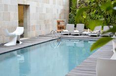 Piscine du Riad Fés. #piscine #riad #fes #design #deco Riad Fes, Le Riad, Outdoor Decor, Design, Home Decor, Morocco, Decoration Home, Room Decor