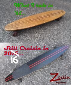 """Zoilin Longboards. Specializing in Solid Eastern Cherry, ($110) and solid Maple, ($75) Longboards. 48"""" x 8 1/2"""" Drilled for longboard tricks. Decks only.  No laminate, not imported just solid hardwood made in the U.S. of A."""