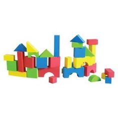 Edushape Edu-Color - 30 pc Firm Foam Blocks : Target
