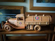 Gas & Oil Truck | Made from Toys and Joys plan. Wood is Sout… | Flickr