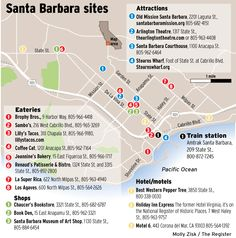 Santa Barbara on a budget. Eateries, shops, attractions and hotels in the city. Great place to travel to in California on the Amtrak Surfliner train because the city is easy to walk around in. Orange County Register travel reporter Gary Warner shares some of his experiences. Old Mission, Arlington Theatre, Sambo's, Lilly's Tacos, Chaucer's Bookstore, Best Western, Holiday Inn and Motel 6 are just a few places suggested.