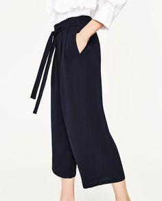 Immagine 1 di PANTALONI CULOTTE di Zara