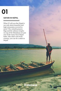 Did you know that Nepal is not only about trekking uphill to Everest? That you can do a Safari in Nepal? Travel Advice, Travel Guides, Travel Tips, Travel Stuff, Best Places To Travel, Cool Places To Visit, Amazing Destinations, Travel Destinations, Asia Travel
