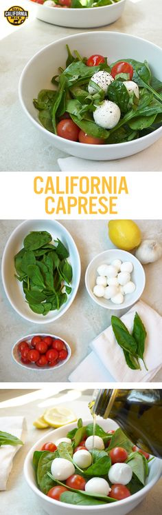 Light and lovely can also be quick and easy. Our California Caprese Salad is perfect for a simple and nutritious family lunch.