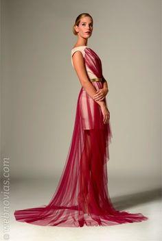 Colección de vestidos de fiesta 2014 de Ivan Campaña  www.webnovias.com/blog