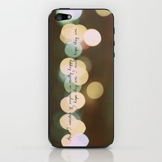 And I Wonder if Anyone is Really Happy iPhone & iPod Skin by Sarah Zanon - $15.00