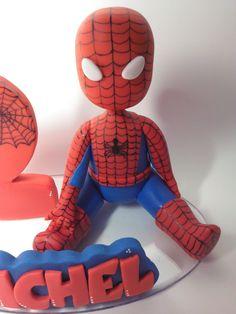 Spiderman Cake Topper, Spiderman Theme, Superhero Theme Party, Superhero Birthday Cake, Novelty Birthday Cakes, Batman Cakes, Slab Cake, Cakes For Men, Pasta Flexible