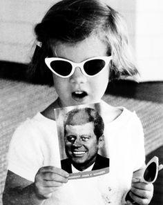 Caroline Kennedy JFK  1961