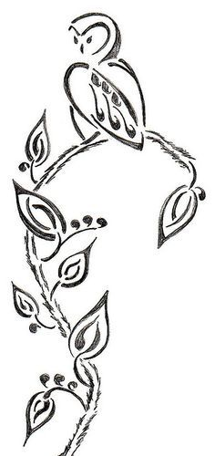 Image result for Tribal owl tattoo