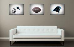 Discount set of 3 Carolina Panthers photo print,boys room decor,kids room decor,Carolina Panthers,football decor,Panthers decor,football art