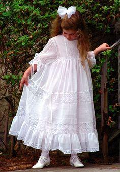 Heirloom dress for a little older girl