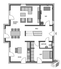 Bungalow house floor plan malaysia with brick and siding craftsman house with co.Bungalow house floor plan malaysia with brick and siding craftsman house with contemporary house for sale new york and craftsman also craftsman bungalow Craftsman Bungalow House Plans, Craftsman Bungalows, Foyers, Stommel Haus, French Country House, House Floor Plans, Future House, Building A House, Decoration