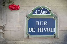 Rue de Rivoli, ... Paris <3 my favorite street of all.....all the cafe's, pastry shops, cheese, etc... you'll fall in Love too.