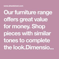 Our furniture range offers great value for money. Shop pieces with similar tones to complete the Fabric Content:MDF Coffee Table Furniture, Money Shop, Living Room Storage, Coffee Table With Storage, Range, Content, Fabric, Tejido, Cookers
