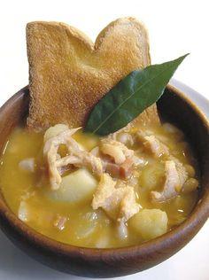 Zuppa di trippe con fagioli