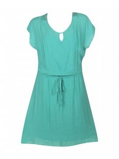 Turquoise Chicago Chic Dress
