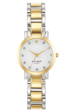 kate spade new york 'gramercy mini' crystal index watch, 24mm available at #Nordstrom