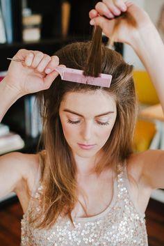 3 gorgeous hair DIYs you can actually do this holiday season
