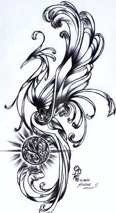this started my ink phoenix trend. guardian of the wind stone Love Tattoos, New Tattoos, Tribal Tattoos, Tatoos, Calla Lily Tattoos, Incredible Tattoos, Beautiful Tattoos, Tattoo Blog, I Tattoo