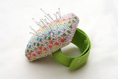 STITCHED by Crystal: Tutorial: Wrist Pincushion