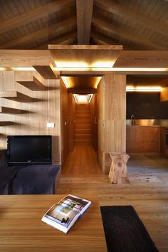 Love the landing at the top of the stairs!