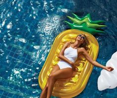 A pineapple to float on all summer.