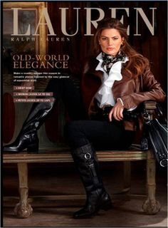 Ralph Lauren and equestrian style Mode Outfits, Winter Outfits, Casual Outfits, Fashion Outfits, Womens Fashion, Looks Country, Country Style, Equestrian Chic, Ralph Lauren Style