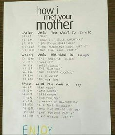 ep 24 ep 24 The Effective Pictures We Offer You About Mothers Day Quotes than Netflix Movies To Watch, Movie To Watch List, Netflix Series, Movie List, Himym Episodes, Friends Episodes, Friends Tv Show, How I Met Your Mother, Best Tv Shows