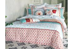 Mariela Bed Line- i have this! Super King Duvet Covers, King Size Duvet Covers, Double Duvet Covers, Single Duvet Cover, Duvet Cover Sets, Room Of One's Own, Painted Floors, Design Your Home, How To Make Bed