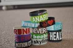 Bracelets. [: