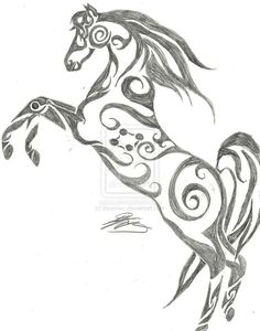 ..possible horse tattoo..but would change a few things..