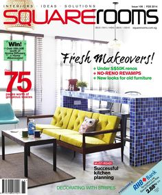 Refresh your space this February with SquareRooms' Makeover issue! This month, we look into practical solutions on no-reno revamps, furniture facelifts and even got Dulux Paint Consultants to share their expertise on colour selections.