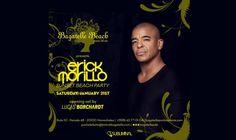 DJ Eric Morillo en Bagatelle Beach