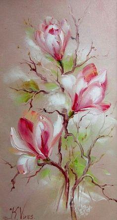 Soft pastel Magnolia